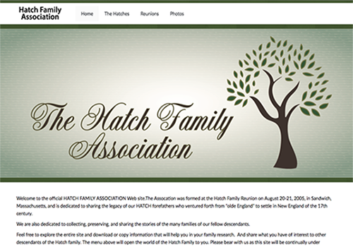 Hatch Family Assocation